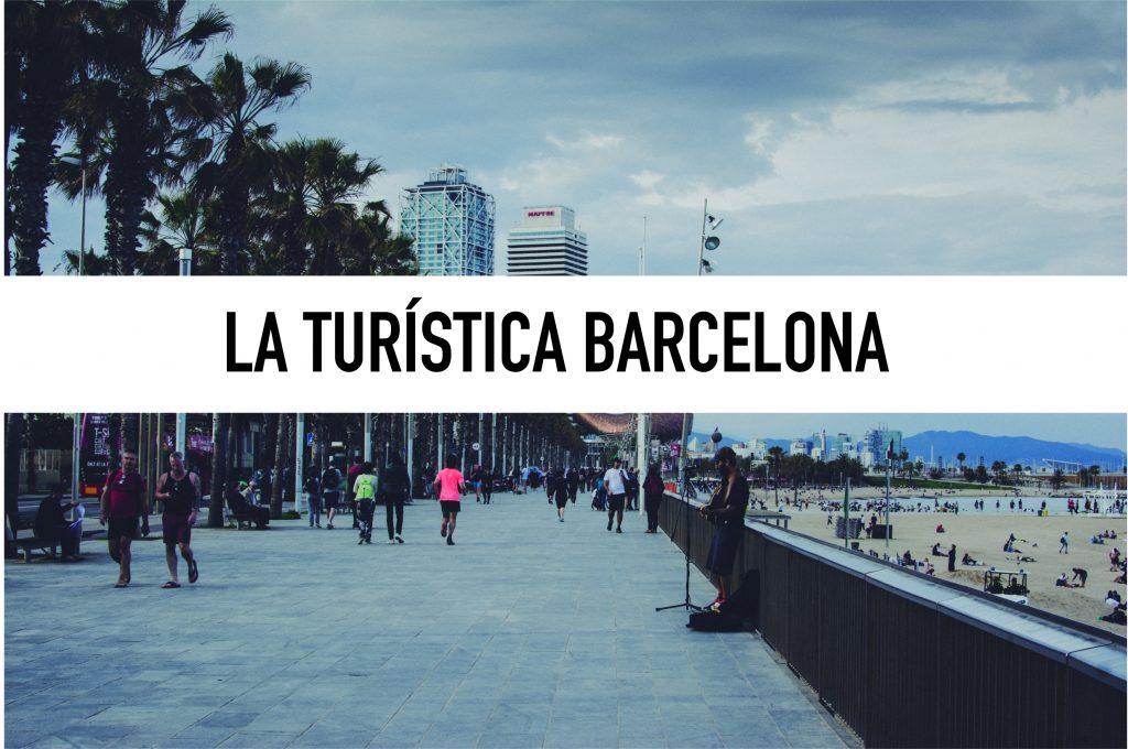 La turística Barcelona